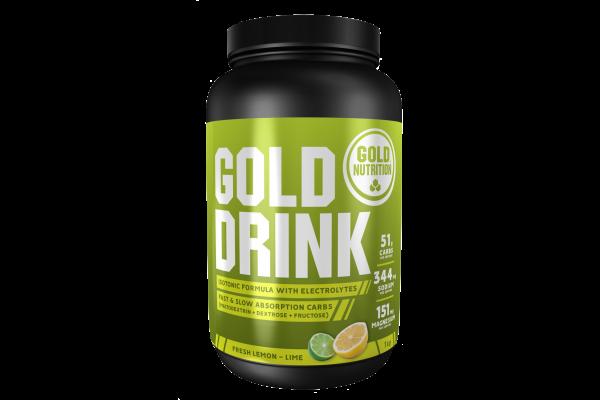 Gold Drink isotonischer Energy Drink MHD 01.03.2022 Fresh Lemon Lime
