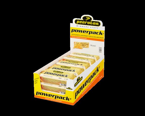 peeroton Powerpack Energie Riegel 15 x 70 Gramm MHD 16.10.2021 Müsl