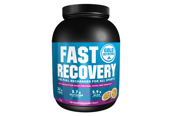 GoldNutrition Fast Recovery Drink MHD 01.11.2021 Passion Fruit Passionsfrucht