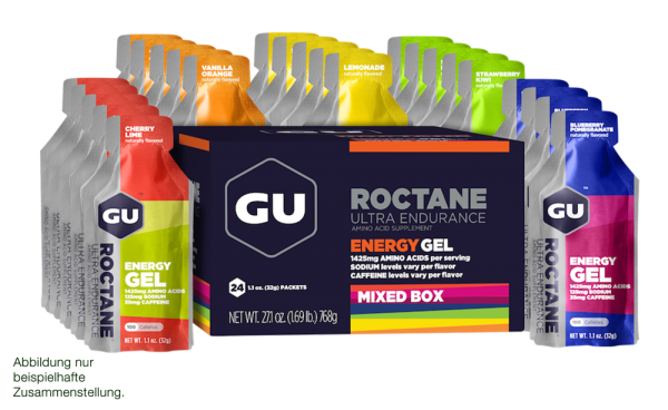 Energy Roctane Gel 24er Mixpaket