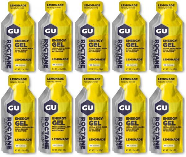 GU ROCTANE Energy Gel 288 Stück MHD 31.10.2020 Lemonade