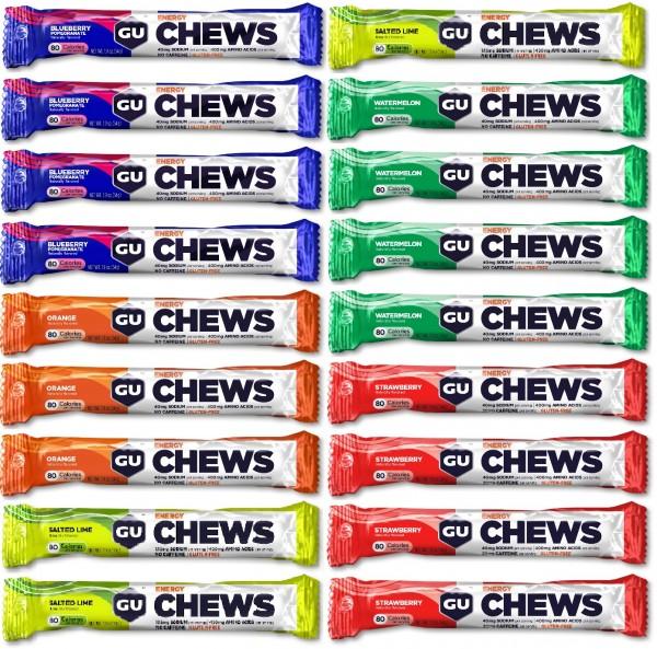Energy Chews Fruchtgummis 18-er Mixpaket