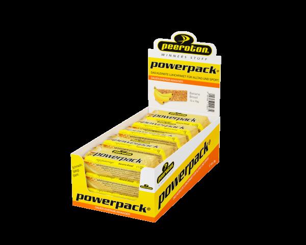 peeroton Powerpack Energie Riegel 15 x 70 Gramm MHD 11.09.2021 Banana Bread