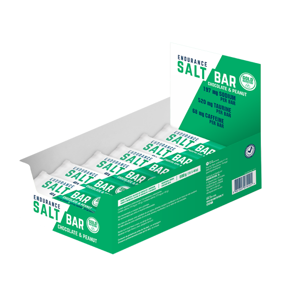 GoldNutrition Endurance Salt Bar MHD 16.01.2021 Chocolate&Peanut