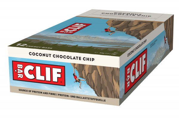 Clif Bar Riegel MHD 28.01.2020 Coconut Chocolate Chip