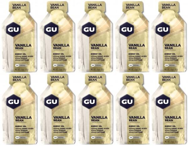 GU Energy Gel 288 Stück MHD 31.01.2020 Vanilla Bean
