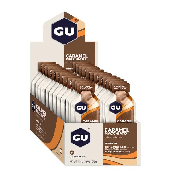 GU Energy Gel MHD 31.07.2021 Caramel Macchiato