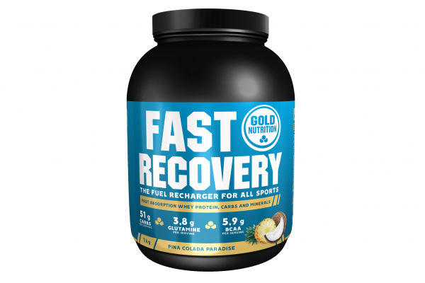 GoldNutrition Fast Recovery Drink MHD 01.02.2022 Pina Colada
