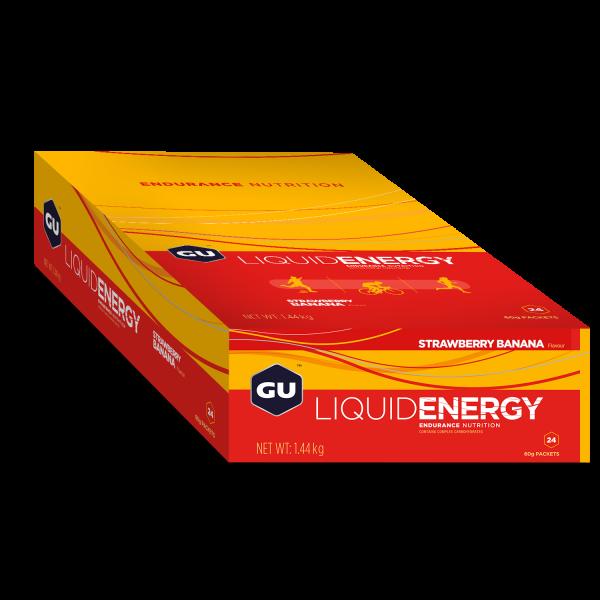 Liquid Energy Gel MHD 22.08.2020 Strawberry Banana Erdbeere Banane