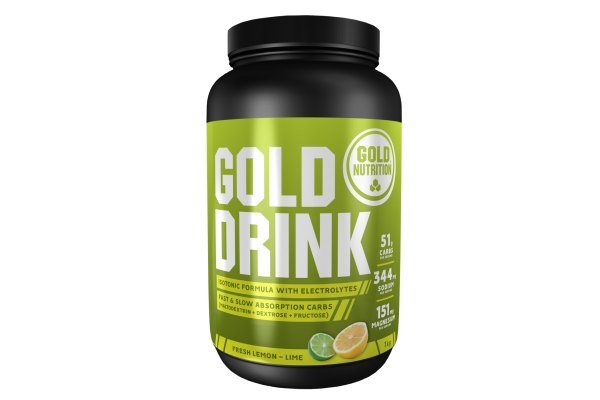Gold Drink isotonischer Energy Drink MHD 31.12.2020 Lemon Lime