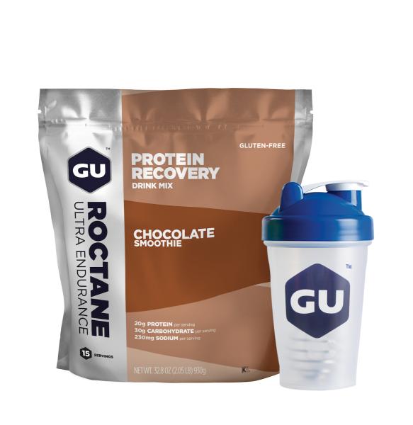 GU Blenderbottle™ Roctane Protein Recovery Kombipaket