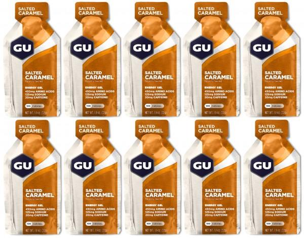GU Energy Gel 288 Stück MHD 30.05.2020 Salted Caramel