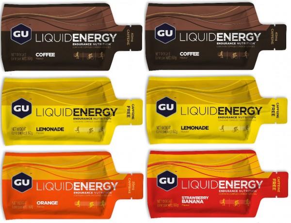 Liquid Energy Gel 6-er Testpaket