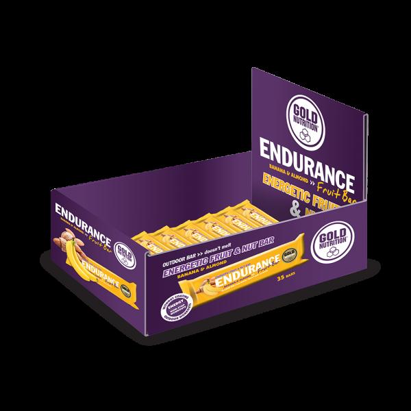 GoldNutrition Endurance Fruit Bar MHD 08.08.2020 Banane / Mandel