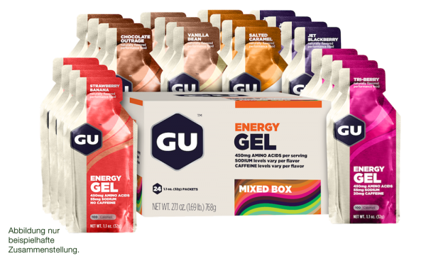 Energy Gel 24er Mixpaket