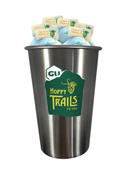 Energy Gel Hoppy Trails 6-er mit Gratis Stahl Bierbecher