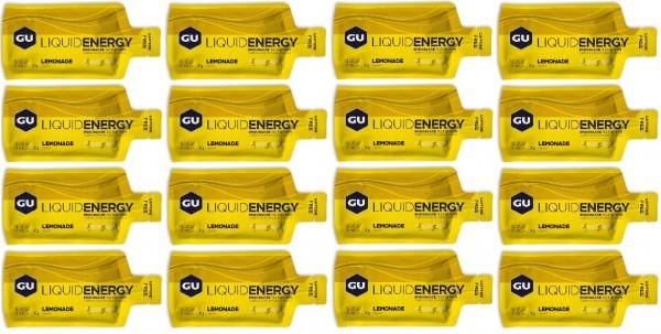 GU Liquid 144 Stück MHD 10.09.2021 Lemonade Zitronenlimonade