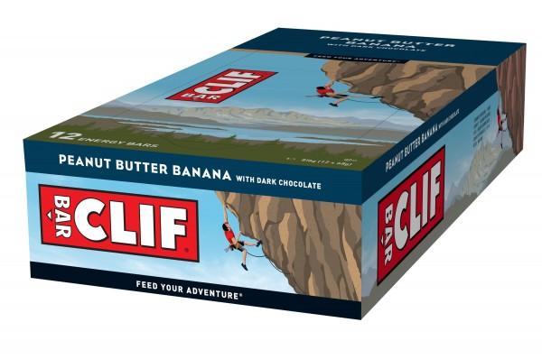 CLIF Bar Riegel MHD 13.03.2021 Peanut Butter Banana