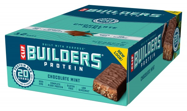 CLIF BAR Builders Protein Riegel Chocolate Mint MHD 07.02.2021