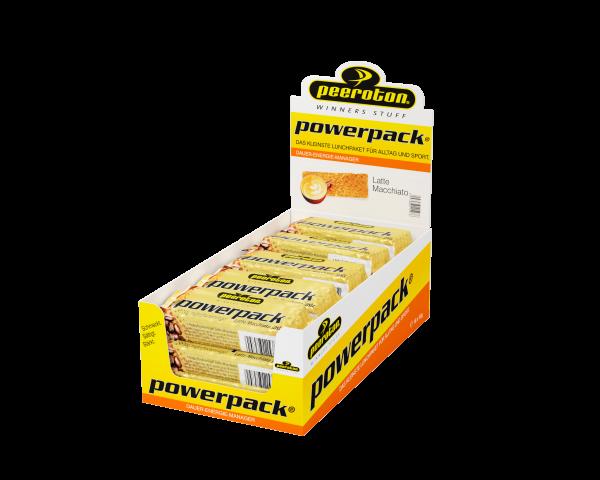 peeroton Powerpack Energie Riegel 15 x 70 Gramm MHD 23.10.2021 Latte Macchiato