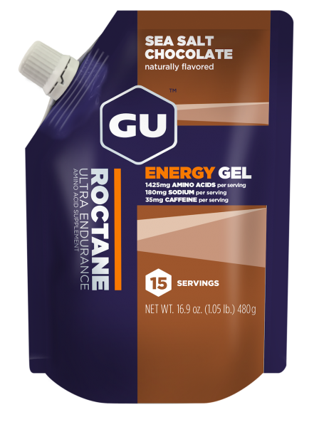 ROCTANE Energy Gel Vorratsbeutel MHD 01.12.2020 Sea Salt Chocolate