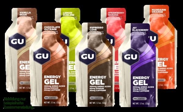 Energy Gel 7 Sorten