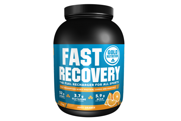 GoldNutrition Fast Recovery Drink MHD 01.02.2022 Orange