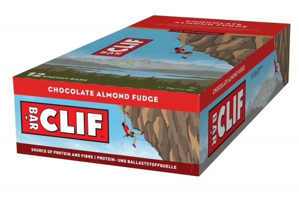 Clif Bar Riegel MHD 11.05.2020 Chocolate Almond Fudge Schokolade Mandel