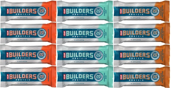 CLIF BAR Builders Protein Riegel 12-er Mixpaket MHD 30.09.2020