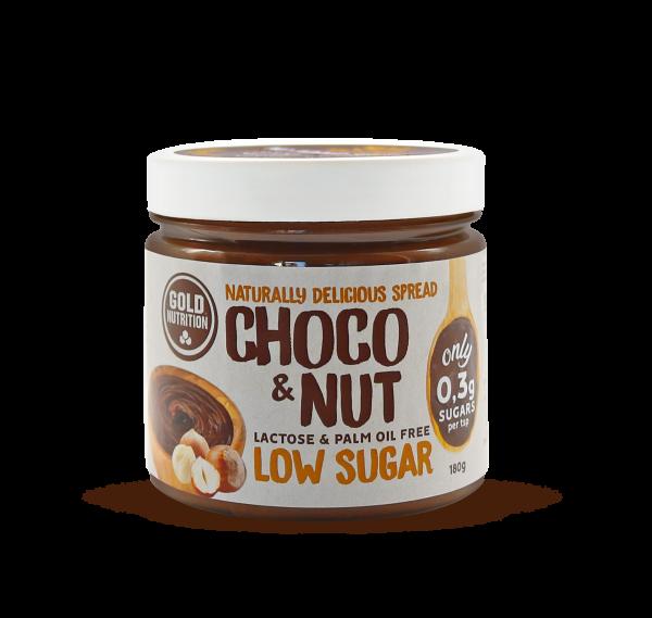 Zuckerarmer Schokolade-Haselnuss-Aufstrich Choco&Nut