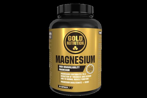 GoldNutrition Magnesium Kapseln 60 Stück