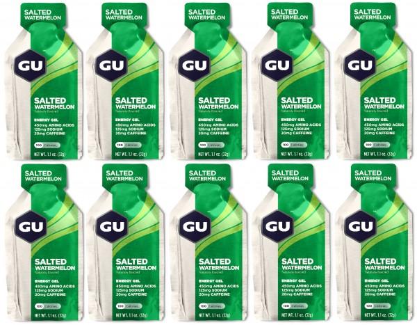 GU Energy Gel 288 Stück MHD 31.12.2019 Salted Watermelon