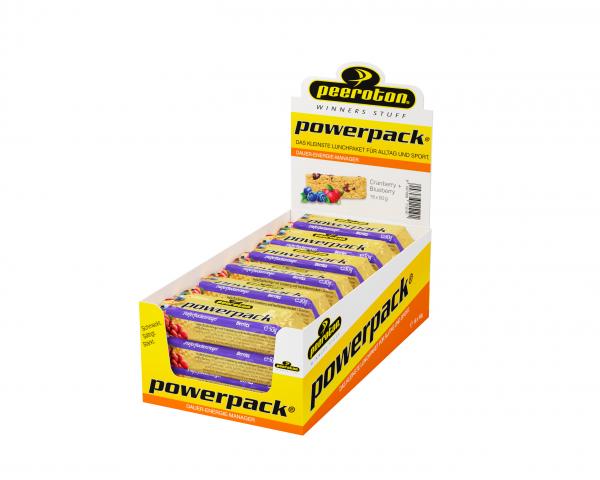 peeroton Powerpack Energie Riegel 15 x 70 Gramm MHD 02.10.2021 Berries