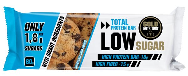 Total Protein Bar Low Sugar MHD 01.04.2020 Chocolate Chip Cookie